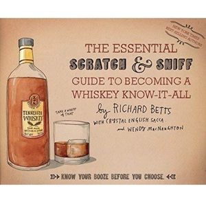 Other - NEW Scratch & Sniff Guide of Whiskey Book